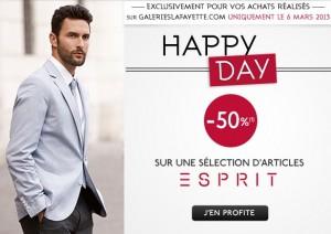 Vêtements Esprit homme à Moitiés prix aujourd'hui seulement