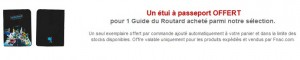 1 guide Routard achete = 1 Protege Passeport gratuit