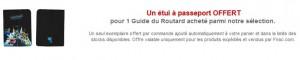 1 guide Routard achete = 1 Protege Passeport gratuit