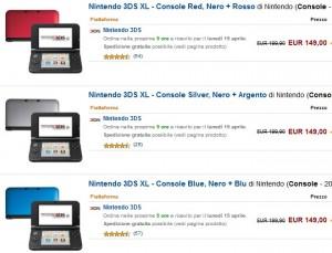 console 3DS XL Nintendo