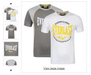 2 T-shirts Everlast pour moins de 13 euros (port inclus)