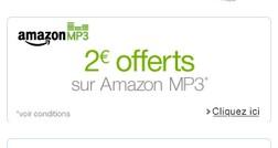 2 euros gratuits MP3