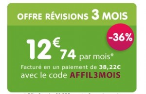 3 mois de révisions chez Maxicours à moins de 40 euros (12,74euros/mois)