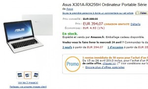 "345 euros Ordinateur Portable Série Ultra Slim 13,3"" Assus (Windows 8)"