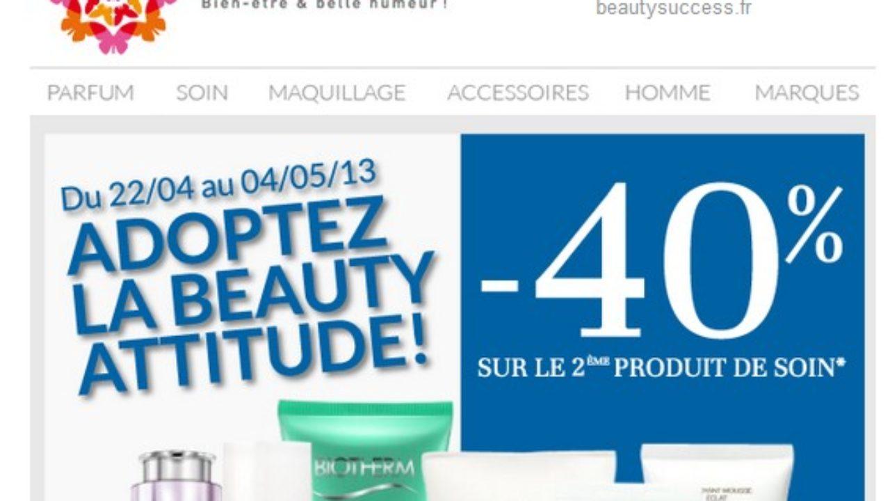 Soin Beauty 40Sur Success Le De AchetéBons Produit Moins 2eme kZOuXPiT