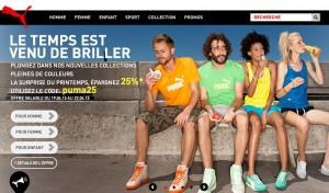 Puma Moins 25% sur la nouvelle collection jusqu'à demain soir (code promo)