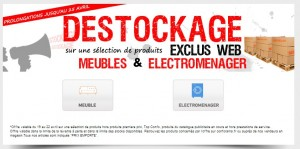 DESTOCKAGE CONFO
