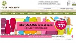 Déstockage Yves Rocher