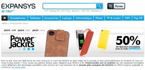 Etuis avec Batterie PowerJackits iJackit iPhone