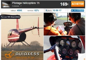 Pilotage helicoptere pas cher