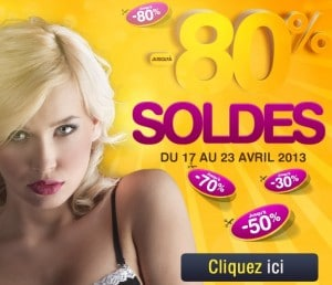 Soldes Sexy Avenue : Jusqu'à -80% sur lingerie sexy, sex-toys