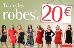 Toutes les Robes à 20 euros Adam & Eve (+ livraison gratuite)