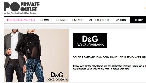 Vente privee Dolce Gabbana Private Outlet Vente privée vélos Peugeot   DERNIER JOUR