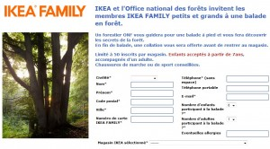 bon plan Ikea Family