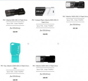 bon plan cle USB PNY code promo