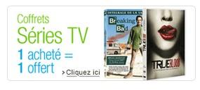 Bon plan Série TV : 1 coffret acheté = 1 gratuit