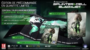 Bonus Précommande: Splinter Cell : Blacklist = Steelbook gratuit