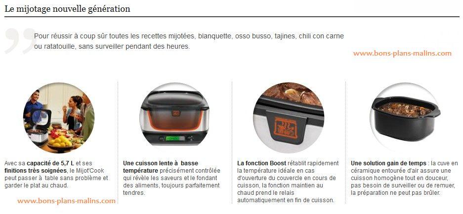 description mijot cook