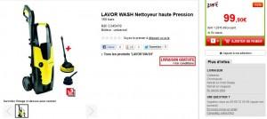 LAVOR WASH Nettoyeur haute Pression