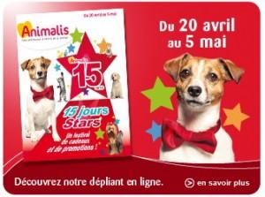 Plus de 90 euros en bons de réductions Animalis à imprimer