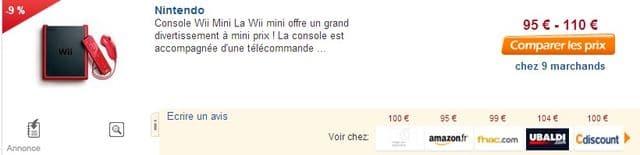 99 Euros La Wii Mini 3 Jeux Gratuits Offerts Livraison Gratuite