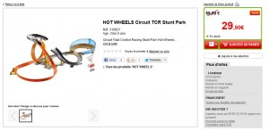 promo Circuit HOT WHEELS