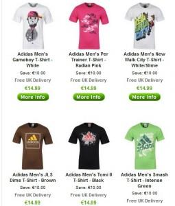 13 euros tshirt adidas
