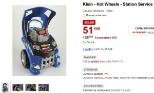 soldes Klein - Hot Wheels - Station Service