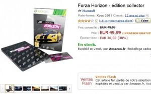 forza horizon edition collector moins cher