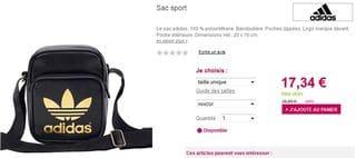 Adidas InclusEt Bandoulière Originals Ou Euros Nikeport 15 Sac EHI2WD9