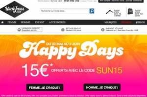 15 euros offerts pour 60 euros d'achats Uncle Jeans