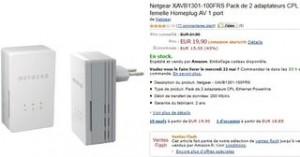 2 adaptateurs CPL Netgear pour moins de 20 euros