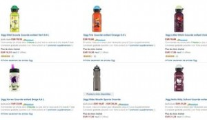 Code promo 20% de réduction immédiate sur les gourdes Sigg (Amazon)