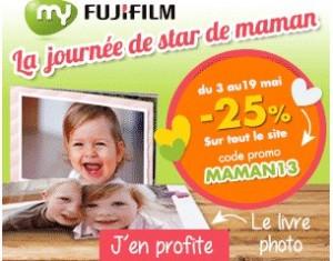 Code promo : -25% sur tout MyFuji (Livre photo, Mug, Photo magnet…) + livraison gratuite