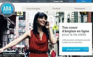 Cours d'anglais en ligne gratuit - ABA English
