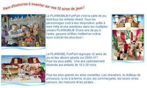 FUNPARK PLAYMOBIL PARIS