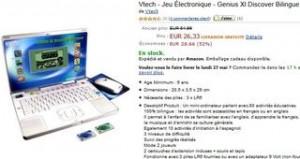 Mini ordi bilingue Genius XL Expert de Vtech au plus bas prix