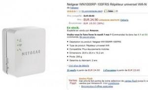 Moins de 25 euros le répéteur Wi-Fi mobile Netgear