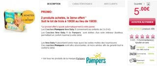 PROMO PAMPERS NEW BABY