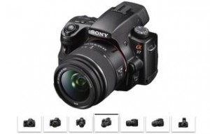 Sony A37 vente flash