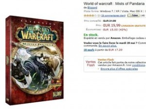 World of Warcraft: Mists of Pandaria à moins de 20 euros