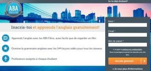 apprendre anglais gratuitement ABA