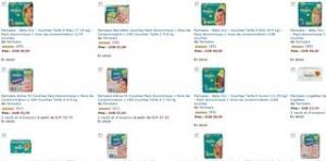 1 paquet de couches pampers achet 500 lingettes offertes - Combien coute un paquet de couche pampers ...