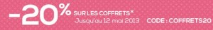 code promo coffret parfum