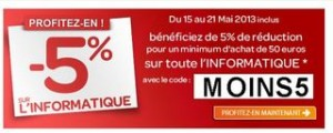 code promo informatique carrefour