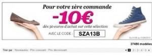 code promo Sarenza 10 euros
