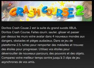 Jeu Xbox gratuit : Doritos Crash Course 2 en téléchargement