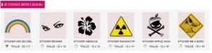 stickers cadeau Vinyz