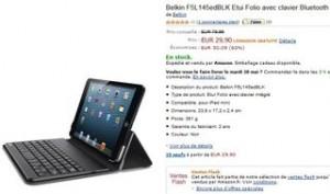 vente flash Belkin clavier + étui pour iPad mini