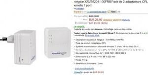 vente flash adaptateurs CPL 500mbs